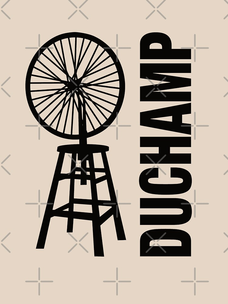 Marcel Duchamp's Bicycle Wheel Sculpture by lavenderochre
