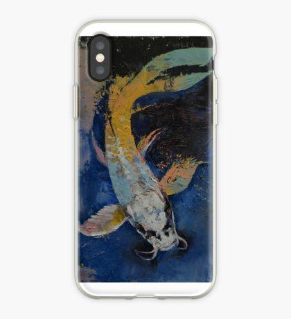 Dragon Koi iPhone Case