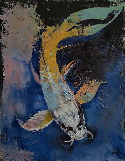 Dragon Koi by Michael Creese