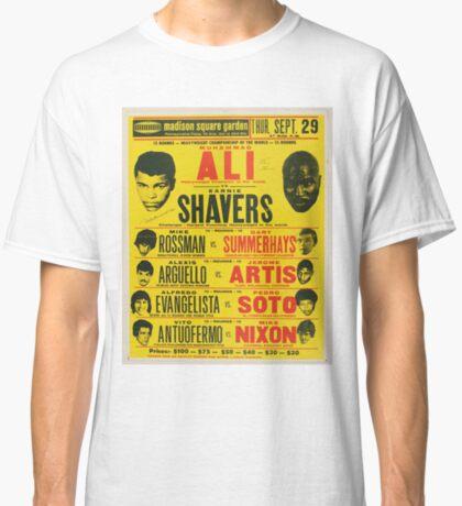 Ali vs. Shavers Camiseta clásica