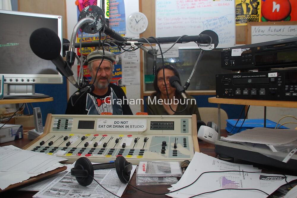 2BOB Radio Studio with Guests by Graham Mewburn
