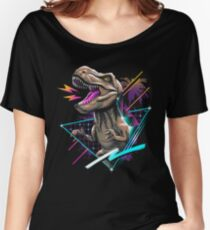 Rad T-Rex Women's Relaxed Fit T-Shirt