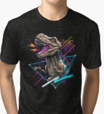 Rad T-Rex Tri-blend T-Shirt