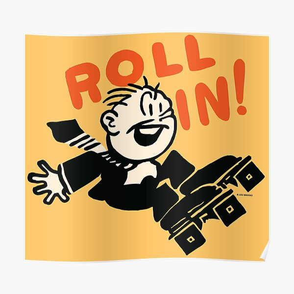 Roll In! Poster