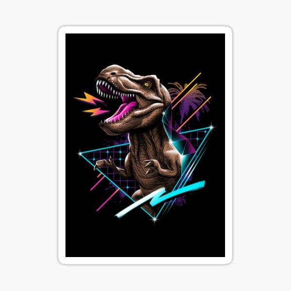 Rad T-Rex Sticker