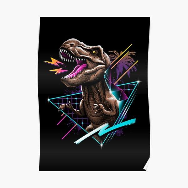 Rad T-Rex Poster