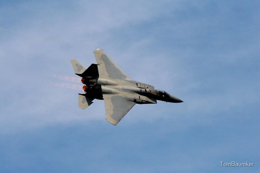 F-15 C  JET  by TomBaumker