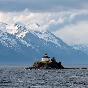 Alaskan Light House by lavenderochre