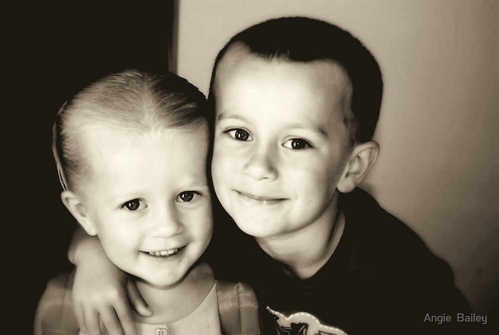 My Two Darlings by Angie  Bailey