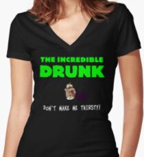 The Incredible Drunk (dark shirts) Women's Fitted V-Neck T-Shirt