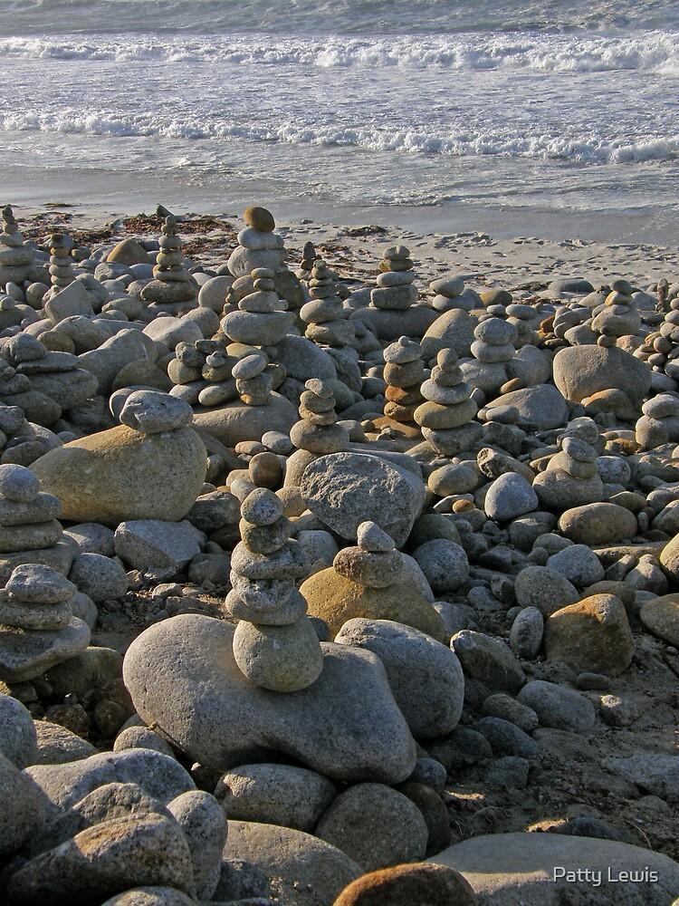 Zen Art ~ Stacking Rocks by Patty Lewis