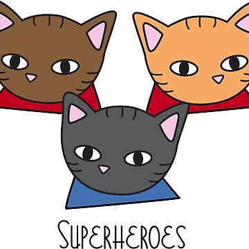 Superheroes by MeowMusic