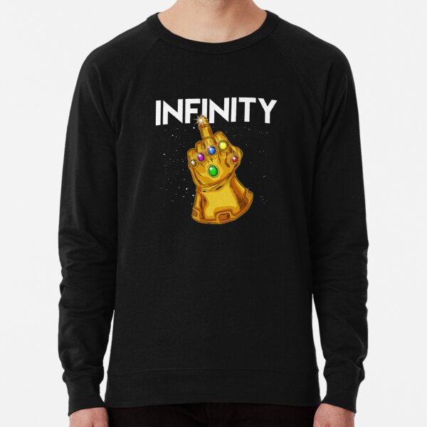 GAUNTLET MIDDLE FINGER HOODY HOODIE FUNNY RUDE THANOS AVENGER COOL HULK THOR