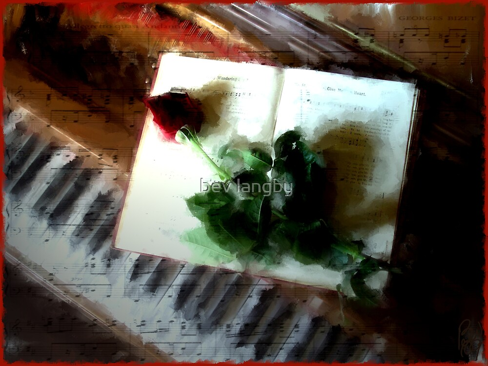 Romantic Interlude  by bev langby