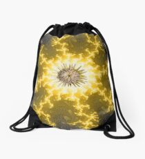 Sun King Drawstring Bag
