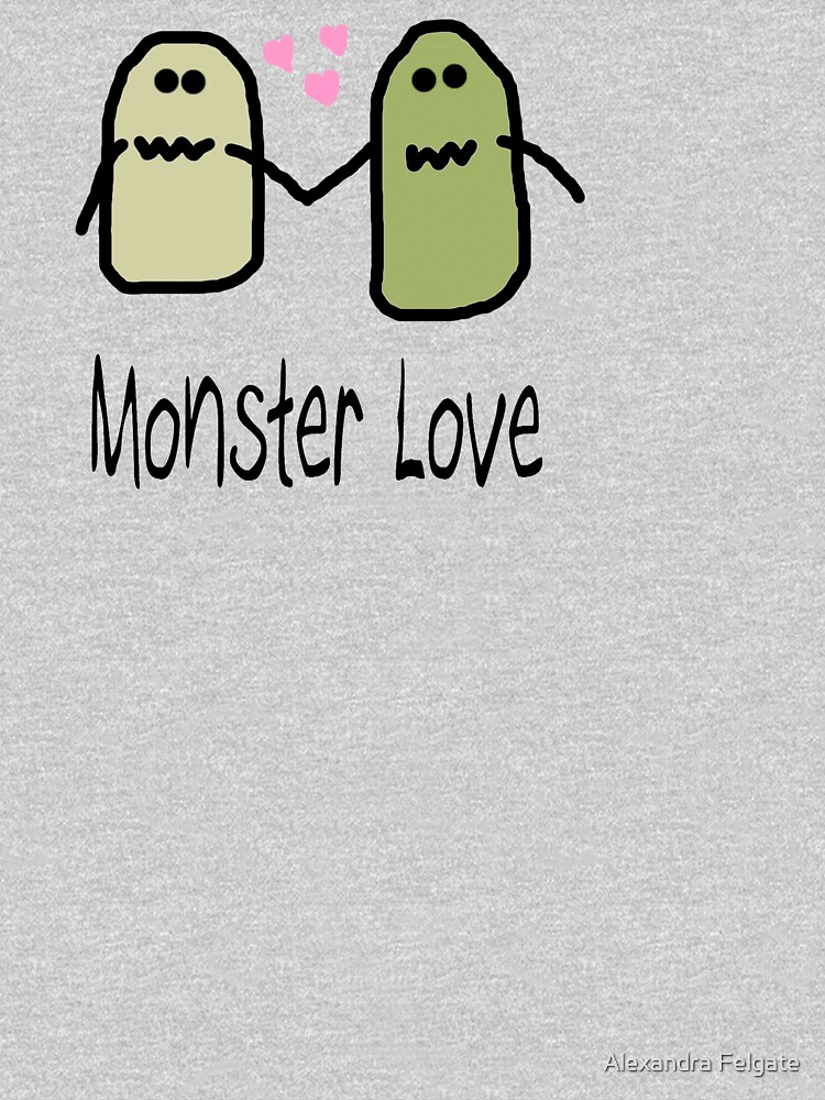Monster Love Tee by aixie