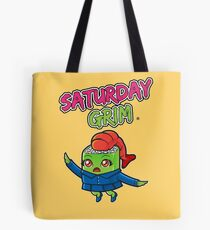 Saturday Grim - Sueshe Tote Bag
