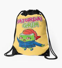 Saturday Grim - Sueshe Drawstring Bag