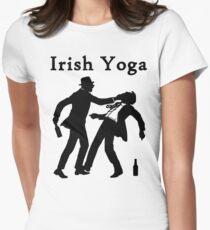 Irish Yoga Womens Fitted T-Shirt