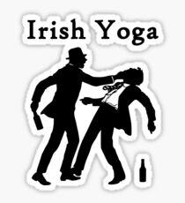 Irish Yoga Sticker