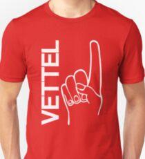 Sebastian Vettel 5 finger Unisex T-Shirt