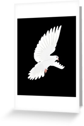 White dove for whit monday dove whit t shirt greeting cards by che white dove for whit monday dove whit t shirt greeting cards by che tatanka redbubble m4hsunfo