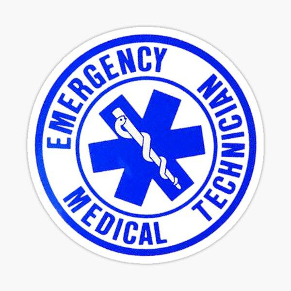 EMT Badge Sticker
