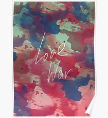 LOVE WAR Poster