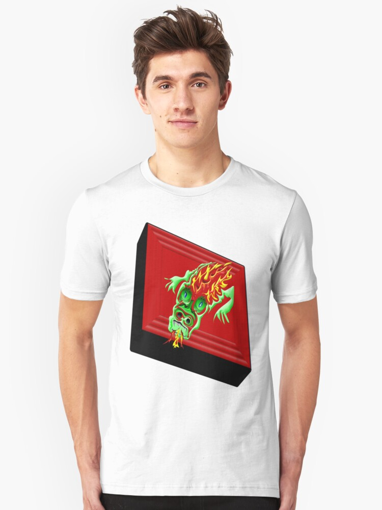 Dragon Tile Unisex T-Shirt Front