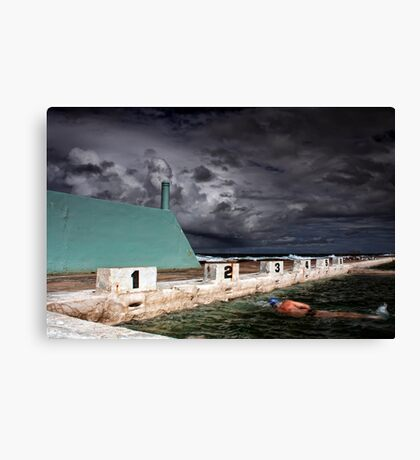 Psycho Summer Canvas Print