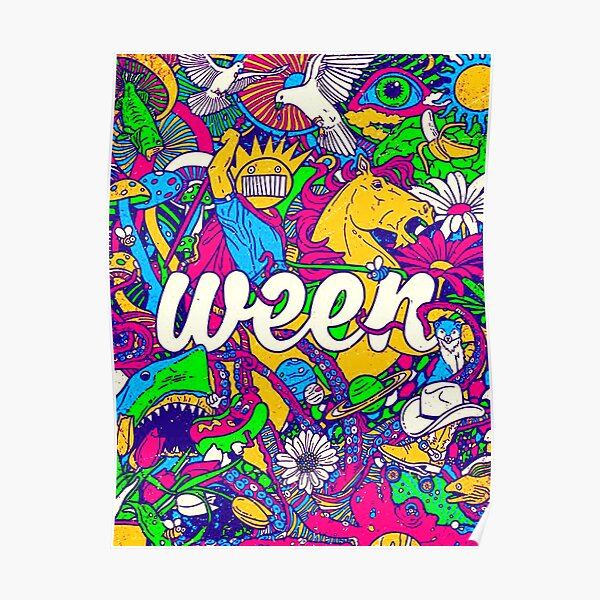 halloween with ween Poster