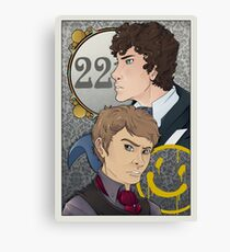 221B Locked Canvas Print