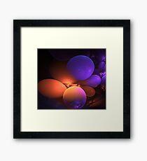 Lava baloons Framed Print