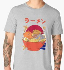 Kawaii Ramen three cat Men's Premium T-Shirt