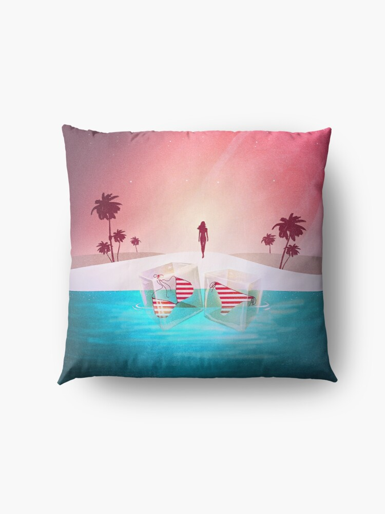 Alternate view of Bikini Beach Floor Pillow