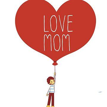LOVE MOM by ScarDesigner