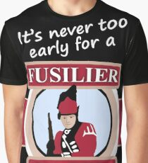 Never too early THIS ARTWORK IS ALSO AVAILABLE ON OTHER MERCHANDISE Graphic T-Shirt