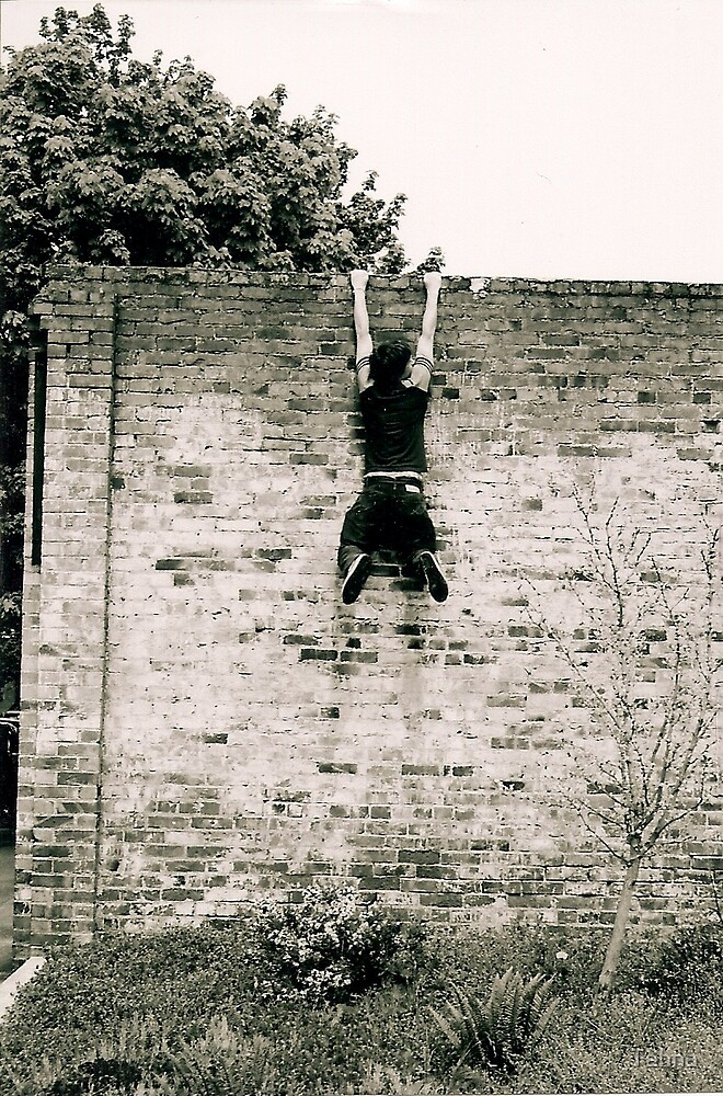 Boy on the Wall by Tahna