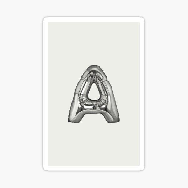 Alphabet Monday - A Sticker