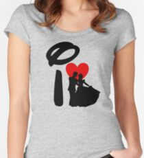 I Heart Happily Ever After Women's Fitted Scoop T-Shirt