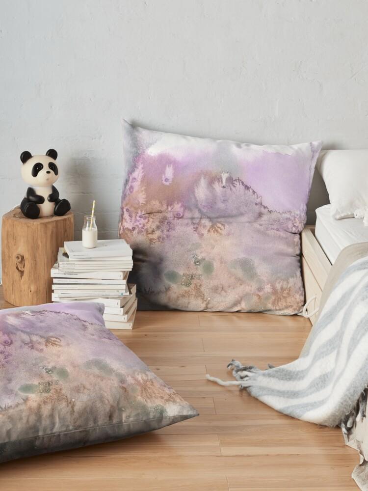 Alternate view of Tongariro 1 Floor Pillow