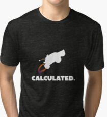 Calculated. Tri-blend T-Shirt