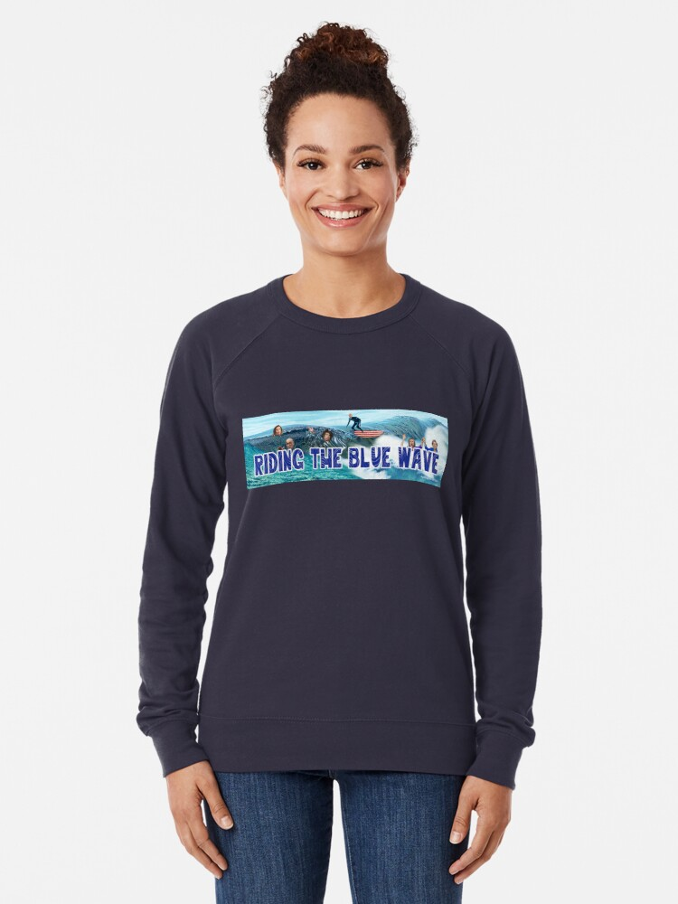 Alternate view of Riding the Blue Wave Lightweight Sweatshirt