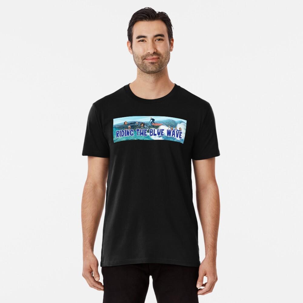 Riding the Blue Wave Premium T-Shirt