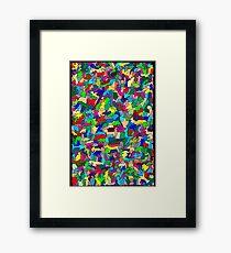 Animal Mat Framed Print