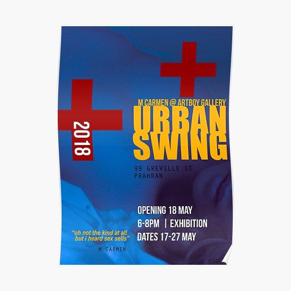 Urban Swing Exhibition Poster (satirical alternative) Poster