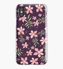 Lovely Watercolor Flower Nature Floral Pattern iPhone Case