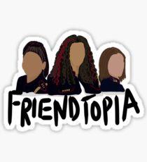 Crazy Ex Girlfriend Friendtopia  Sticker