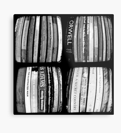 The Bookshelf Metal Print