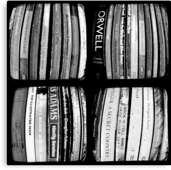 The Bookshelf by Kitsmumma